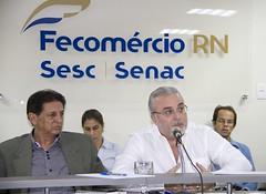 Jean Paul Prates, presidente do Centro de Estratégia em Recursos Naturais e Energia (Cerne), fez a abertura do evento.