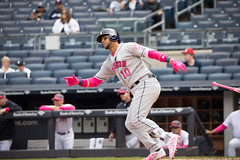 Astros first baseman Yuli Gurriel singles during the second inning. (apardavila) Tags: houstonastros mlb majorleaguebaseball yankeestadium yuligurriel baseball sports