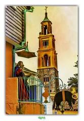USE A GOD YOU TRUST (régisa) Tags: portmeirion loveandrockets wales galles cymru gwynedd campanile prière