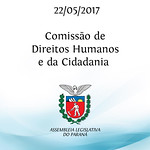 Reunião da Comissão de Direitos Humanos e da Cidadania 22/05/2017