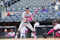 Astros outfielder Josh Reddick takes a pitch in the first inning. (apardavila) Tags: houstonastros joshreddick mlb majorleaguebaseball newyorkyankees yankeestadium yankees yanks baseball sports