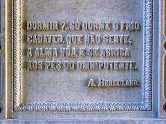 Lisboa (isoglosse) Tags: lisboa lissabon lisbon portugal grab jazigo tomb serif sansserif acento akzent accent tilde til
