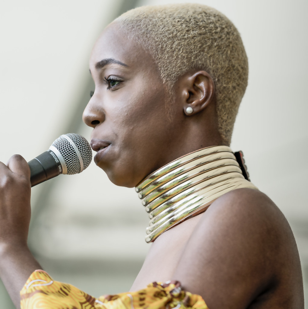 NC GREY IS A SOUL SINGER SONGWRITER [SHE PERFORMED AGAIN AT AFRICA DAY IN DUBLIN]-128596