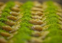 Pistachio Baklava (goranhadzihasanovic) Tags: sweet food eastern east tasty dessert gourmet pistachio traditional baklawa baklava bakery arabic turkish