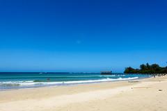 Kaui 482 DSC04310 (cpburt) Tags: kauai hawaii hanaleipier hanaleibay hanaleibeach hanalei ocean beach waves shore