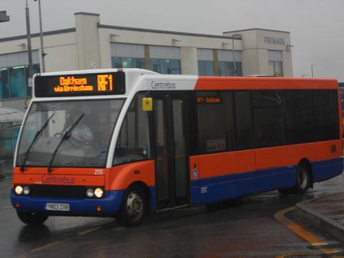 Centrebus 255 YN03 ZXB