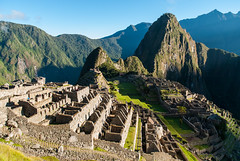 Machu Picchu, Peru - Sunrise over The Lost City of the Incas (GlobeTrotter 2000) Tags: south america cuzco holidays machu peru picchu seven sunrise tourism travel vacation wonders