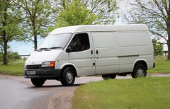 K902 PLR (Nivek.Old.Gold) Tags: 1992 ford transit 150 popular d lwb van 2496cc