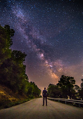Looking for the stars (Vagelis Pikoulas) Tags: stars star galaxy milky milkyway way canon 6d tokina 1628mm long exposure view selfshot selfie myself landscape psatha europe greece universe space night nightscape may spring 2017