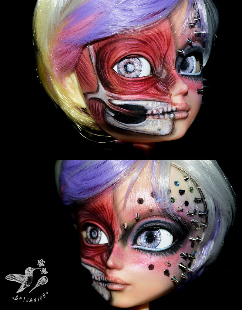 Facial Sweetie Cream For Pretty Goth Doll