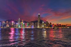 Hong Kong at Night (taharaja) Tags: asia boars bridges budhist china concretejungle ferriswheelrenaissancehotel harbor harbour honglomg kowloon port seafood seafront ships starferry sunrise sunset temple victoriaharbor victoriapeak skyline skyscraper