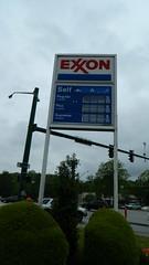 Exxon sign (closed) (RetailByRyan95) Tags: exxon bp sign abandoned dead empty former closed old vacant newportnews va virginia