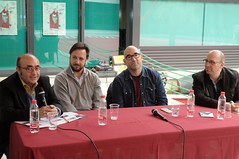 Emili Piera, Bernardo Carrión, Jordi Llobregat i Santiago Álvarez 29/04/17