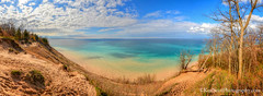 Lake Michigan … light play (Ken Scott) Tags: pyramidpoint bluesky turquoisewater panorama leelanau michigan usa 2017 may spring 45thparallel hdr kenscott kenscottphotography kenscottphotographycom freshwater greatlakes lakemichigan sbdnl sleepingbeardunenationallakeshore voted mostbeautifulplaceinamerica