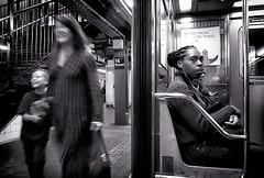 between stop (Le Xuan-Cung) Tags: betweenstop subway platform 14thstreet manhattan nyc usa streetphotography atmosphere bigcity citylife urban urbanshots urbannyc streetshots streetscene streetlife sw bw nb blackandwhite noiretblanc livinginnyc livinginmanhattan livinginusa