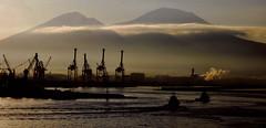 neapolitan morn (midcheshireman) Tags: landscape industry naples italy docks mountain volcano vesuvius