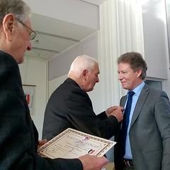 Serge Perottino a reçu la médaille et le diplome du Souvenir français - 20170307