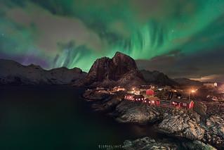 Hamnøya auroras