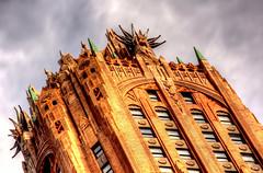 Lightning Crown (Tryppyhead) Tags: nyc 2017 spring architecture buildings artdeco 20thcentury usa skyscraper hdr nikond7200 photomatixpro4 paintshoppro gebuilding 570lexingtonave lexingtonavenue manhattan electricity
