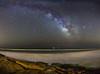 CG. Calblanque. (J. Cuenca) Tags: víalactea milkyway calblanque canon playa nigthlandscape cartagena murcia rocas agua mar astrofotografía nocturna