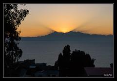 Titicaca - Amanecer en la Isla del Sol (M@P31) Tags: titicaca lac bolivia sonya77 thaki isladelsol paysage lago sigma1770c andes cordillère bolivie altiplano 2016 landscape amanecer leverdesoleil sunrise