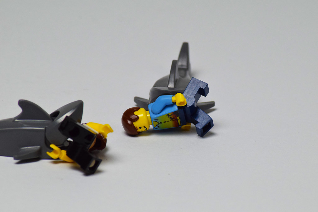 Lego Shark Toys For Boys : The world s best photos of lego and shark flickr hive mind