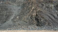 Recumbent fold (correia.nuno1) Tags: almograve castelejo deformação dobras flysch geologia geology grauvaques paleozoico paleozóico portugal recumbentfold zsp dobrasdeitadas falha