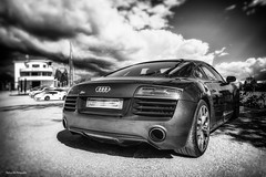 Audi R8 (Stéphane Sélo) Tags: audi audir8 france pentax pentaxk3ii printemps r8 saintgermainaumontdor supercar v10 ain automobile car sport voiture