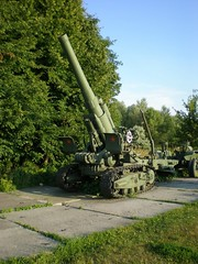 """203 mm Howitzer M1931 1 • <a style=""""font-size:0.8em;"""" href=""""http://www.flickr.com/photos/81723459@N04/33804387504/"""" target=""""_blank"""">View on Flickr</a>"""