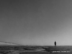 Le torrent (JEAN PAUL TALIMI) Tags: biscarrosse solitude talimi texture sable mer calme ciels matiere bleue sudouest statue marche silouettes solitudes landes lumieres lac littoral noi noir et blanc bw