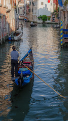 Back canals of Venice (veras_city) Tags: canal gondolier gondola italy venice