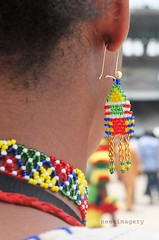 colours of an earing (neec imagery) Tags: africa nigeria lagos earing beads colours festivalofcolours lagos50