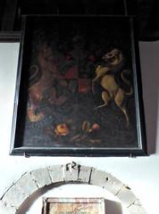Royal Arms, Rochford (Aidan McRae Thomson) Tags: rochford church worcestershire royalarms painting heraldic