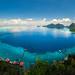 Bohey Dulang: A panorama of East Borneo Sabah Islands (Hafidz Abdul Kadir) Tags: