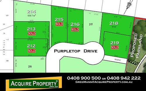 PL219 Purpletop Drive, Kellyville NSW