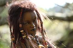 Harsh (Mamzelle Follow) Tags: dollstownelysia twiglingbody bjd hybrid doll blackdoll