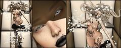 Whirlwind of thoughts surround me Collage (shirley Uborstein) Tags: white breeze wind spiral petals latex shiny paddedroom girl female woman sexy socks wings sl secondlife inworld art photography blog fashion cubiccherrykreations bossie catwa fantasygachacarnival genre ghoul glamaffair kustom9 lemorte littlefish lorien minimal moonsha redfish suicidedollz tableauvivant thelittlebat thesecrethideout yokai {s0ng}