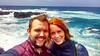 in the middle of the Atlantic (ekelly80) Tags: azores portugal sãomiguel may2017 termasdaferraria pontadelgada coast selfie rocks rocky black lavarocks lava water blue ocean atlanticocean windy wind