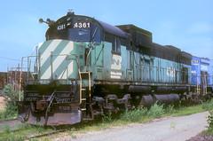 BN Class A-636 4361 (Chuck Zeiler) Tags: bn class a636 4361 railroad alco c636 locomotive silvis jm altman chz