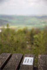 Brockenblick . 55km (:: Blende 22 ::) Tags: brockenblick brocken harz bank sitz holz germany deutschland thuringia thüringen eichsfeld landkreis sommer heilbadheiligenstadt sunset wolken bluesky canon canoneosd canoneos5dmarkiv church color sky colorful ef2470mmf28liiusm