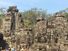 Faces at Angkor Thom
