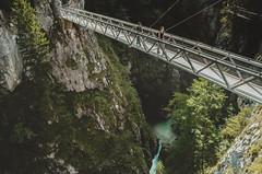 Afraid of heights? (b_represent) Tags: bridge brücke leutaschklamm schlucht klamm alpen alps österreich landschaft landscape