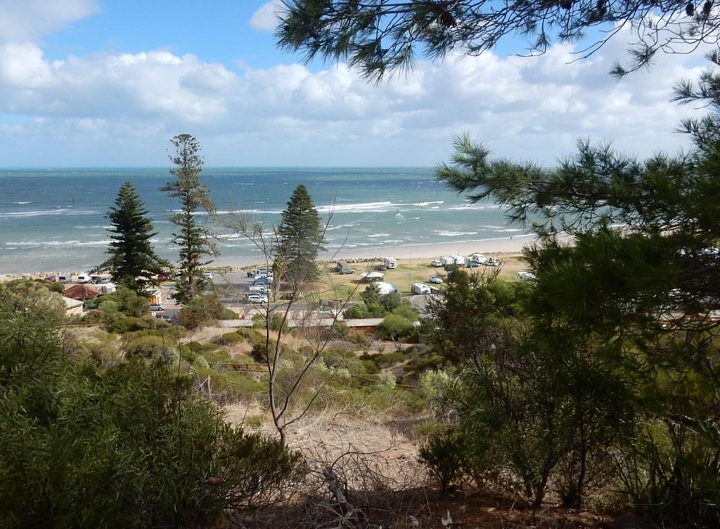 View of Seacliff Beach