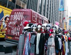 Heads (UrbanphotoZ) Tags: heads hats shades sunglasses scarves stand mannequinheads manwithavan skicaps wbmason trucks americanflag rabbit nostanding 1251avenueoftheamericas radiocity rockefellercenter midtown westside manhattan newyorkcity newyork nyc ny graffiti stickfigures movers