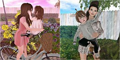 2 NEW BLOG POSTS! (Candy Rinq [mabelcnls Resident]) Tags: morning stroll higher posies wasabi pills raven mesh hair rfl fantasy faire 2017 envogue arianna bento fitted rigged store release blogging blogger fashion toddleedoo toddler daisy candy bike pickup