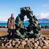 Lava Sculpture, Reykjavik