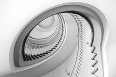 eye-liner (Blende1.8) Tags: spiral circular wendeltreppe spirale auge treppenauge stair stairs staircase treppenhaus architecture architektur indoor indoors carstenheyer treppen interior nikon d700 line lines linien