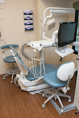 An inside look at a dental workstation on the new UTHealth School of Dentistry's Ronald McDonald Care Mobile™ (UTHealth) Tags: ronald mcdonald care mobile uthealth school dentistry houston texas children health dental