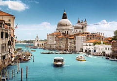 Grand Canal and Basilica Santa Maria della Salute, Venice, Italy (wallmistwallpaper) Tags: architecture basilica blue boat building canal catholic church city cityscape cloud day dome europe european famous gondola gondolier grand historic history holiday house island italian italy landmark landscape maria mediterranean old palace salute san santa sea ship sky summer sun sunny transport travel venetian venezia venice vintage water white