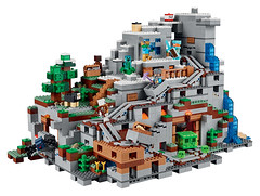 LEGO Minecraft 21137 - The Mountain Cave (THE BRICK TIME Team) Tags: lego brick minecraft 2017
